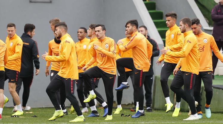 Galatasaray'ın kupa kadrosu belli oldu!