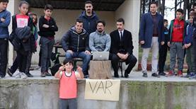 'VAR' okul turnuvasında