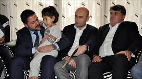 Beşiktaşlı yöneticilerden taziye ziyareti