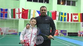 Hamza Yerlikaya'dan badmintona destek