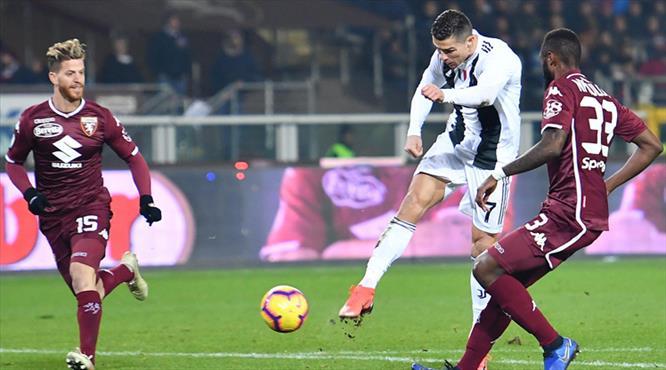 Ronaldo derbide tarihe geçti (ÖZET)