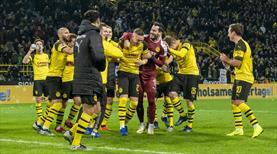 Dortmund ilk yarıyı lider tamamladı