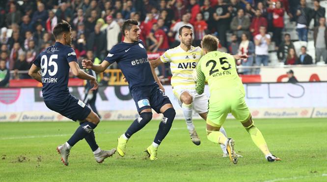 İşte Antalyaspor - Fenerbahçe maçının özeti