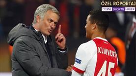 Mourinho ne dedi? Kluivert o fotoğrafın sırrını anlattı!