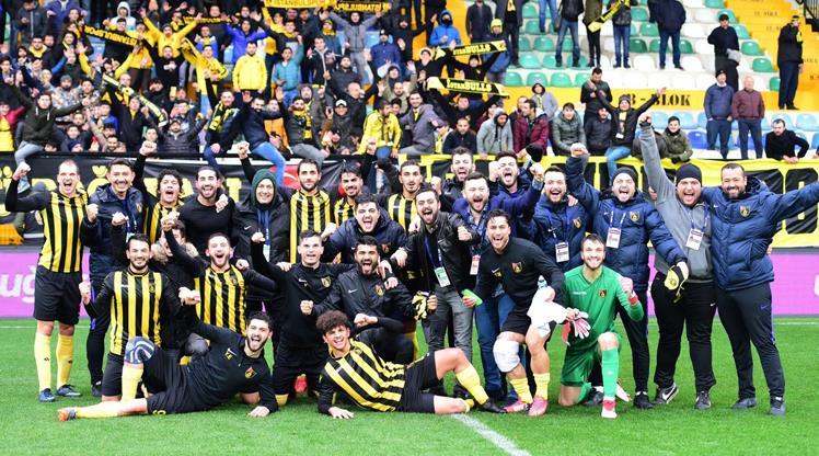 İstanbulspor'da gözler zirvede