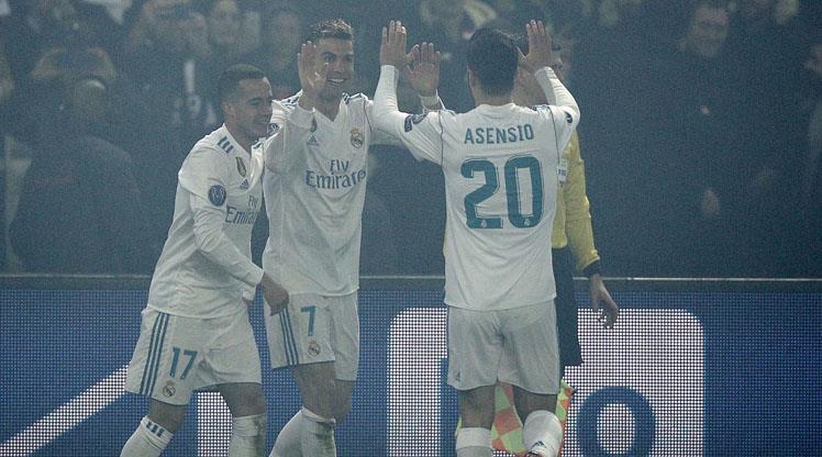 Dev eşleşmede gülen Real Madrid