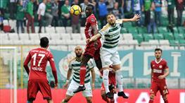 Bursaspor - Demir Grup Sivasspor: 1-0 (ÖZET)