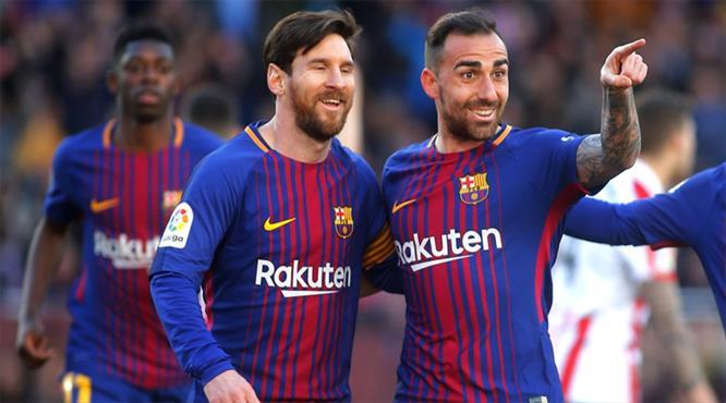 Barça şampiyonluğa koşuyor (ÖZET)