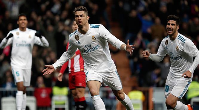 Ronaldo şov yaptı, Real 6 attı! (ÖZET)