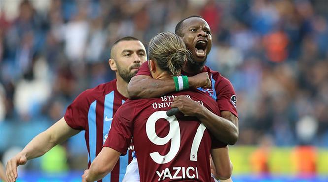 Trabzon'da perdeyi Onazi kapattı