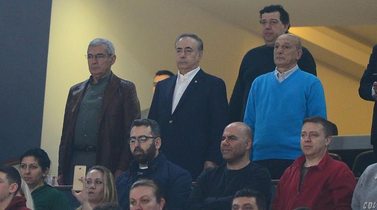 Galatasaray Odeabank'a başkan desteği