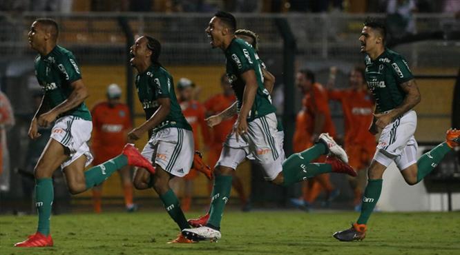 Melolu Palmeiras penaltılarla finalde (ÖZET)