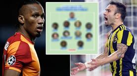 Drogba ve Valbuena bu 11'de buluştu