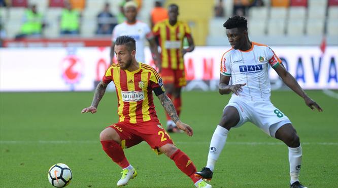Evkur Yeni Malatyaspor - Aytemiz Alanyaspor: 1-1 (ÖZET)