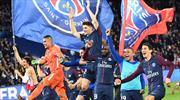 PSG şampiyonluğu böyle kutladı!
