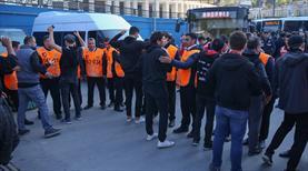 Beşiktaş taraftarı Kadıköy'de