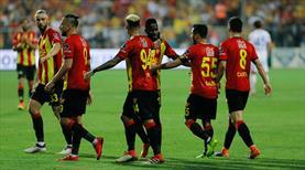 Göztepe - Kardemir Karabükspor: 5-0 (ÖZET)