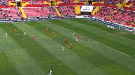 Süper Lig'de cumartesi müthiş bir golle başladı