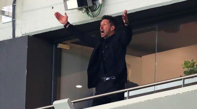 Simeone finali tribünden izleyecek
