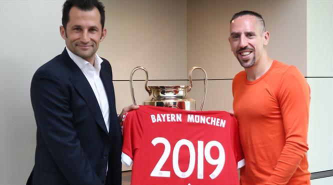 Ribery 2019'a kadar uzattı