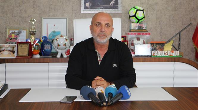 """""""Osmanlıspor ve bizim durumuz ortada"""""""