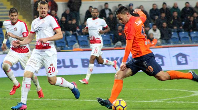 Antalyaspor ile Başakşehir 16. kez