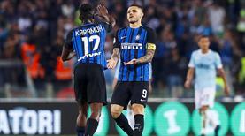 Inter zor başardı, bileti kaptı
