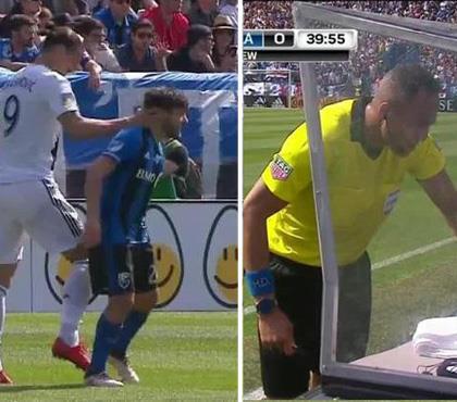Zlatan VAR'a yakalandı! Oyundan atıldı