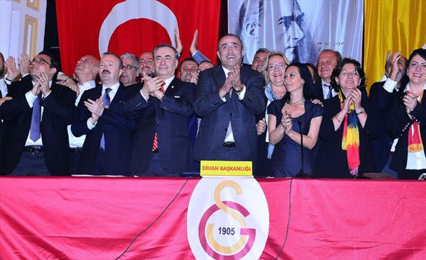 Galatasaray'ın 38. başkanı belli oldu