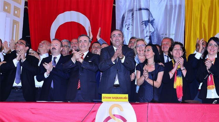Galatasaray'da görev bölümü yapıldı
