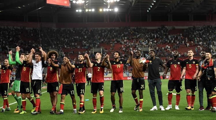 Yıldızlar topluluğu Belçika'da hedef zafer!