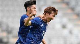 Japonya'dan gollü prova