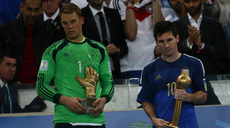 Dünya Kupası'nın son 'Altın Top'u Messi'nin