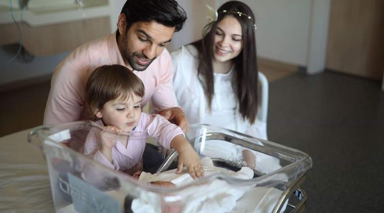 Muhammet Demir ikinci kez baba oldu