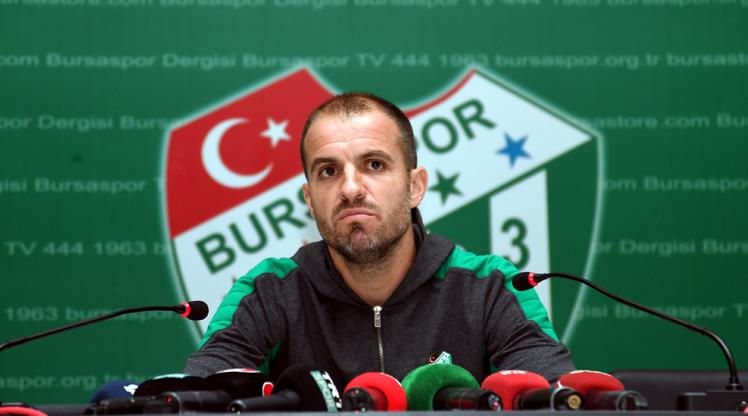 Mustafa Er Bursa'ya veda etti