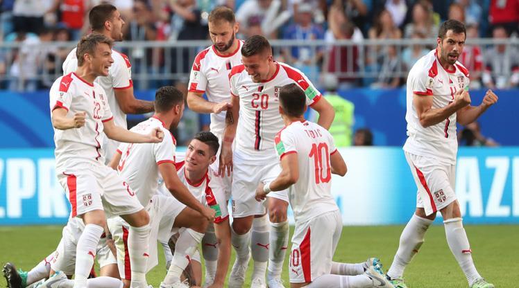 Sırplar muhteşem golle güldü