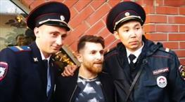 'Sahte Messi' Moskova'yı karıştırdı