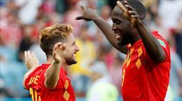 Belçika ilk yarı durdu, ikinci yarı coştu