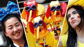 Kolombiya - Japonya maçından renkli kareler (GALERİ)