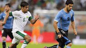 Uruguay ile Suudi Arabistan 3. kez