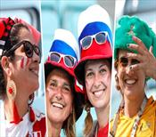 Avustralya - Peru maçından renkli kareler