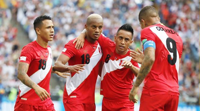 Peru galibiyetle veda etti