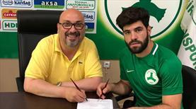 Giresunspor Muhammed'le imzaladı