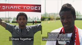 Kayserli yıldızlardan Türkiye'ye tam destek