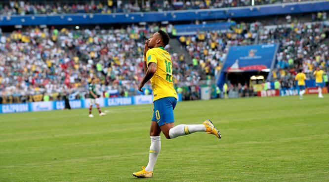Neymar'ın Dünya Kupası!