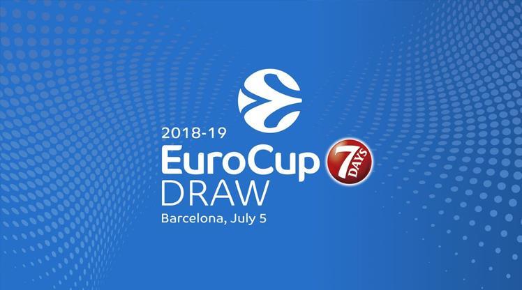 EuroCup'ta kura heyecanı