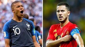 """""""Mbappe ve Hazard iki olağanüstü yetenek"""""""