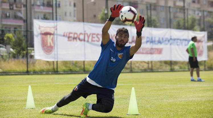 Kayseri'de golcüler penaltı çalıştı