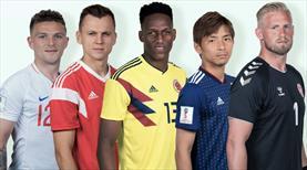Dünya Kupası'nda yıldızı parlayan 5 isim!