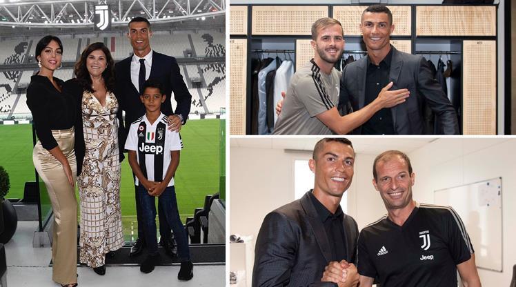 Ronaldo Juventus'a ısınıyor!
